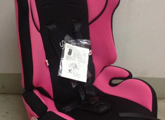 9-36кг Автокресло Стиони (розовый) без вкладыша