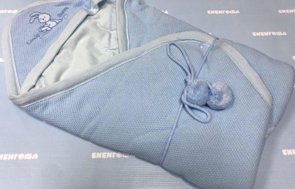 Одеяло-плед на выписку